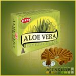 Kúpfüstölő Aloe Vera / HEM Aloe Vera Füstölő Kúp