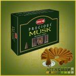 Kúpfüstölő Pézsma / HEM Precious Musk Füstölő Kúp