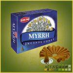 Kúpfüstölő Mirha / HEM Myrrh Füstölő Kúp