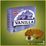 Kúpfüstölő Vanília / HEM Vanilla Füstölő Kúp