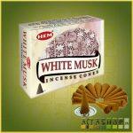 Kúpfüstölő Fehér Pézsma / HEM White Musk Füstölő Kúp
