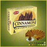 Kúpfüstölő Fahéj / HEM Cinnamon Füstölő Kúp