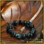 ásvány karkötő - fekete onix