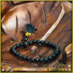 féldrágakő karmala - fekete achát
