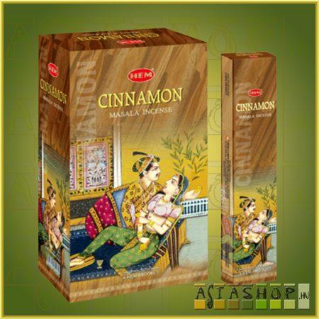 HEM Cinnamon/HEM Fahéj illatú indiai maszala füstölő