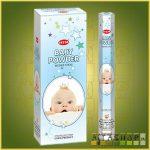 HEM Baby Powder/HEM Babapúder illatú indiai füstölő