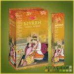 HEM Mirrh/HEM Mirha illatú indiai maszala füstölő