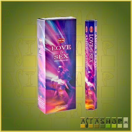 HEM Love and Sex/HEM Szerelem és Szex indiai füstölő