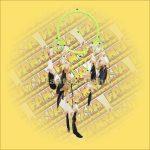 Álomcsapda (álomfogó) világoszöld 22cm