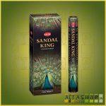 HEM Sandal King/HEM Szantálkirály indiai füstölő