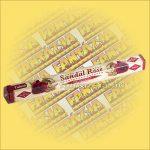 Tulasi Szantálfa és Rózsa illatú füstölő / Tulasi Sandal Rose