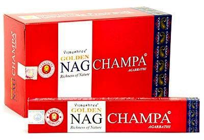 Golden Nag Champa AsiaShop