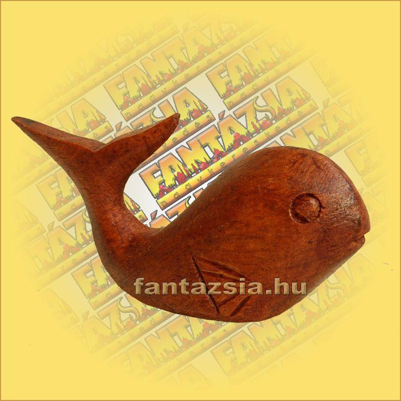 Bálna Figura Sono fából