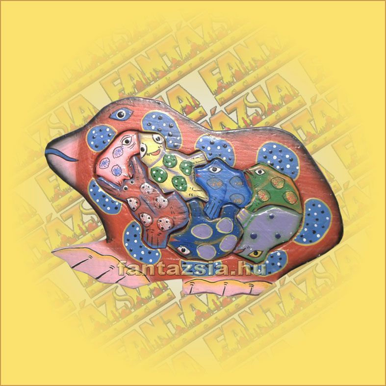 Trópusi Fa Puzzle mix béka