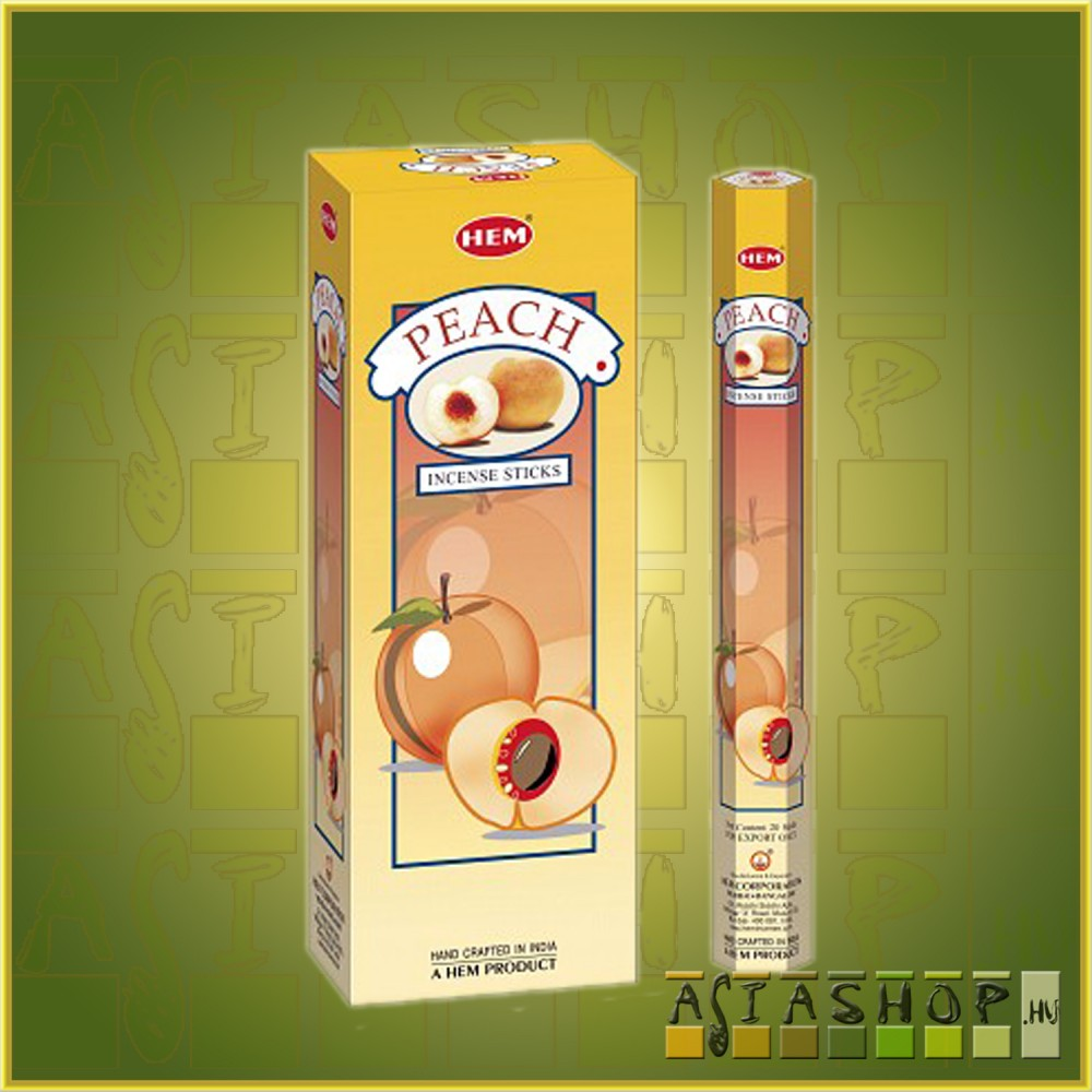 HEM Peach/HEM Őszibarack illatú indiai füstölő