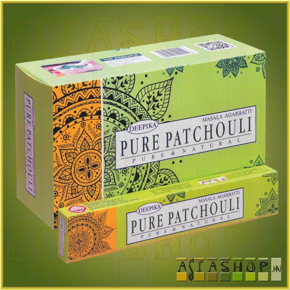 Deepika Pure Patchouli Masala Füstölő