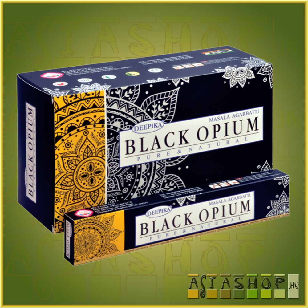 Deepika Black Opium Masala Füstölő