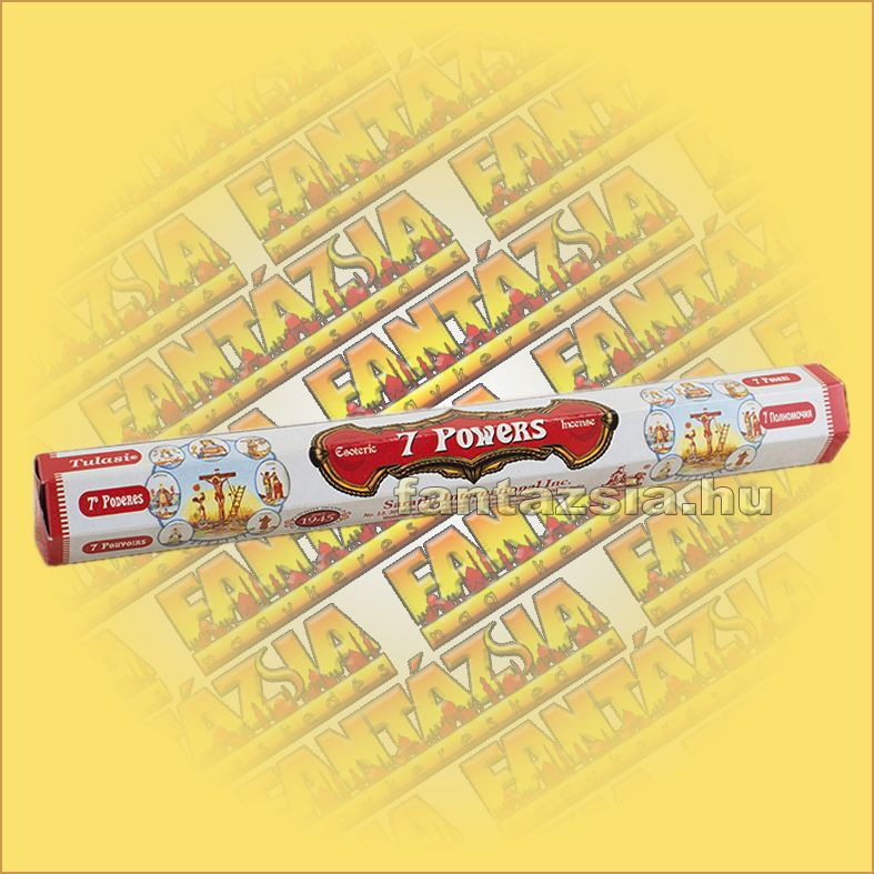 7 Powers füstölő/Tulasi 7 Powers