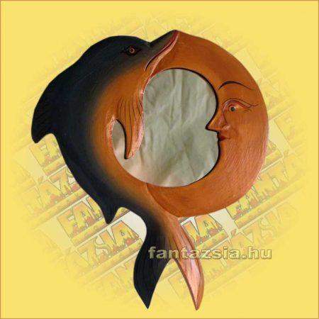 Tükör Hold és Delfin