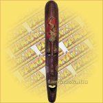 Maszk Mahagóni Fából (lomboki)B