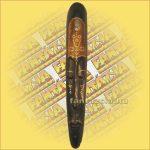 Maszk Mahagóni Fából (lomboki)D