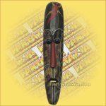 Maszk Aboriginal Festéssel Széles 1m B