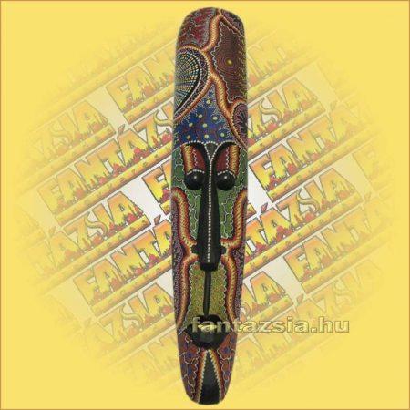Maszk Aboriginal Festéssel Széles 1m C