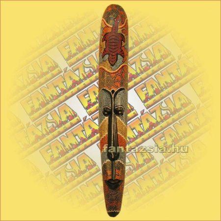 Maszk Aboriginal Festéssel 1m A