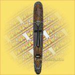 Maszk Aboriginal Festéssel 1m B