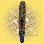 Maszk Aboriginal Festéssel 1m D