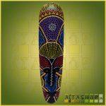 Maszk Aboriginal Festéssel N
