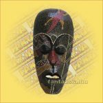 Maszk Aboriginal Festéssel kicsi  E