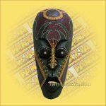 Maszk Aboriginal Festéssel közepes  C