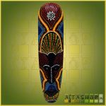 Maszk Aboriginal Festéssel J