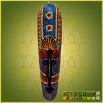 Maszk Aboriginal Festéssel 0,5m A