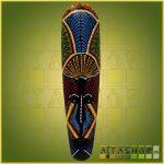 Maszk Aboriginal Festéssel 0,5m D