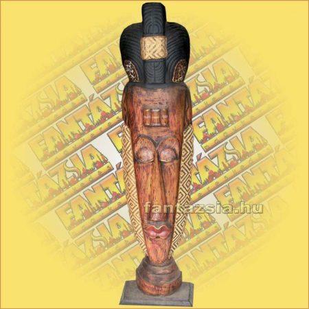 Maszk Trópusi Fából, Talpas 1,5m