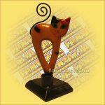 Macska Ceruzatartó Trópusi Fából