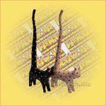 Macska Gyűrűtartó-Hosszú Farkú Trópusi Fából B