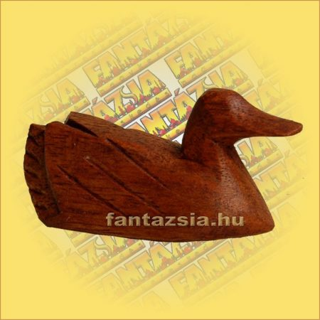 Kacsa Figura Sono fából