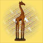 Zsiráf Trópusi Fából Natúr