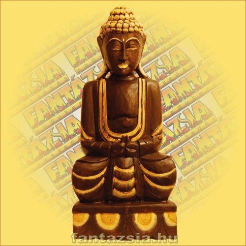 Buddha Szobor Ülő 60 cm