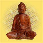 Buddha Szobor Sono Fából 15cm