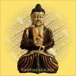Buddha Szobor Ülő 50cm