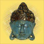 Buddha Arc Maszk kék 20cm