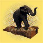 Elefánt Figura Fagyagból