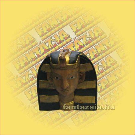 Egyiptomi Fáraó Fej Trópusi Fából kicsi