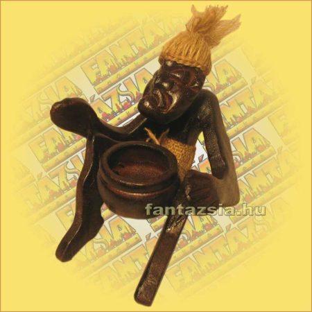 Asmat Harcos (Pápua-Tiki Törzs) Hamutartó C