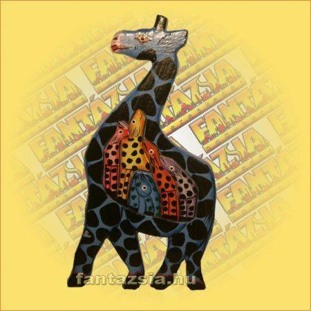 Trópusi Fa Puzzle mix zsiráf