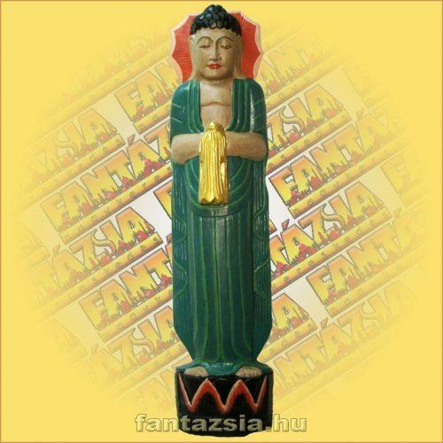 Buddha Szobor Álló,Festett B